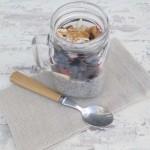 Pudding de chía con frutos rojos