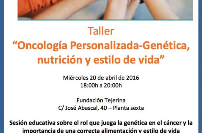 Oncología Personalizada: Genética, nutrición y estilo de vida