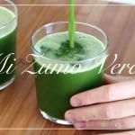 VÍDEO: Mi zumo verde