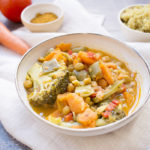 Campaña Lunes sin carne: Garbanzos con curry y leche de coco