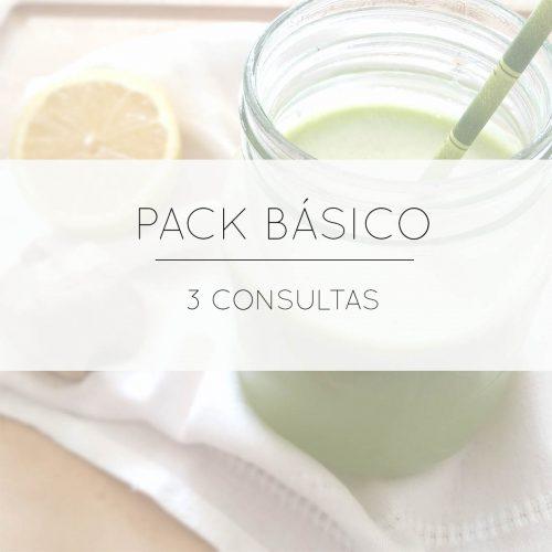 Consultas y packs nutrición