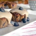 Muffins de arándanos y nueces pecanas
