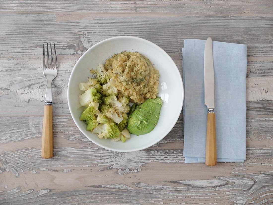bowl risotto quinoa