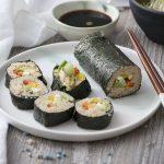 Maki rolls de quinoa