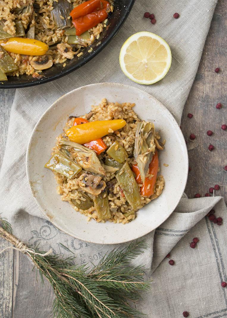 paella-verduras2